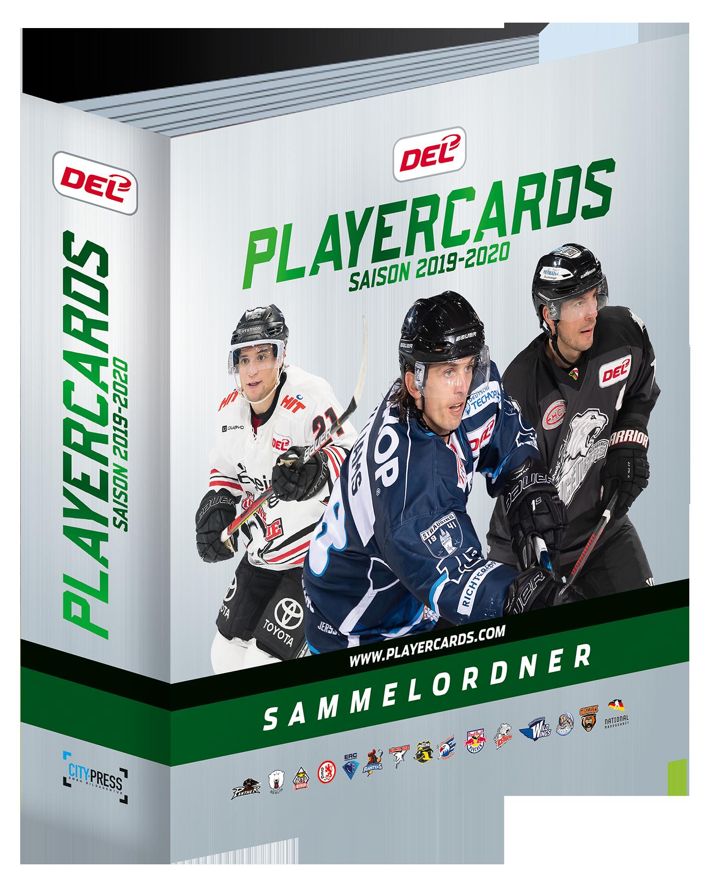 Playercards DEL 2019-2020 Ordner