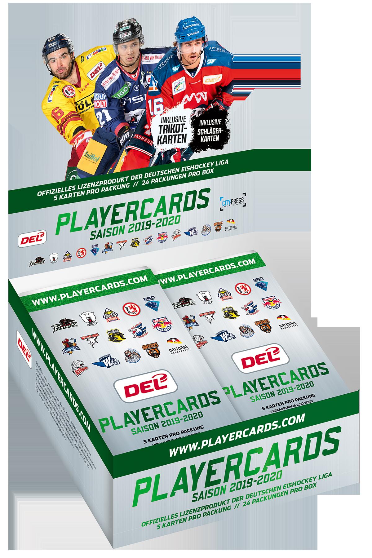 Playercards DEL 2019-2020