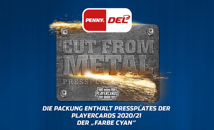 DEL Pressplate Edition - Cut from Metal 2020/21