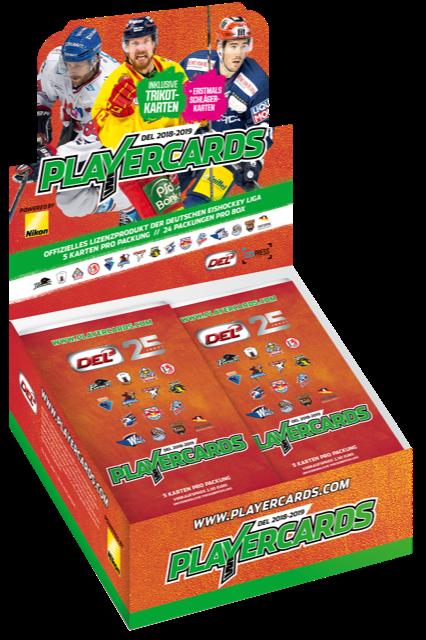 DEL Playercards Box - 2018/2019